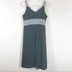 Kuhl gray women's strap dress fitted empire medium